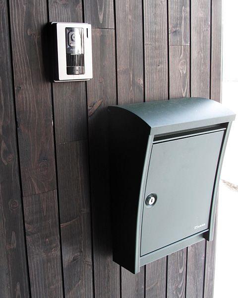 ペンネ スティーリー 設置例写真08 玄関 表札 デザイン 家