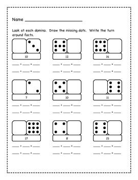 Images for turn around facts worksheets 1st grade ...