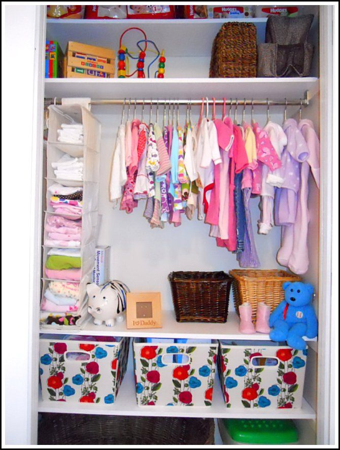 I Followed A Lot Of Her Tips For Organizing Sloan S Closet Loved The Idea