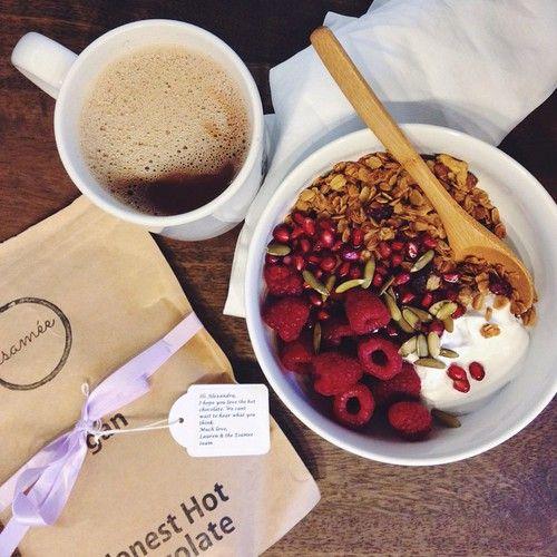 Bright Happy And Healthy Albeeats GF Granola Coconut Yogurt Fruit