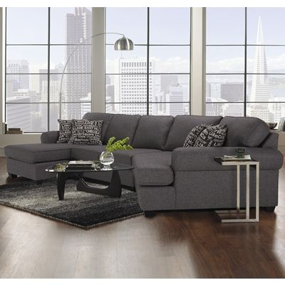 Decor Rest Furniture Living Room 2566/2583 Sectional 100% Made In Canada