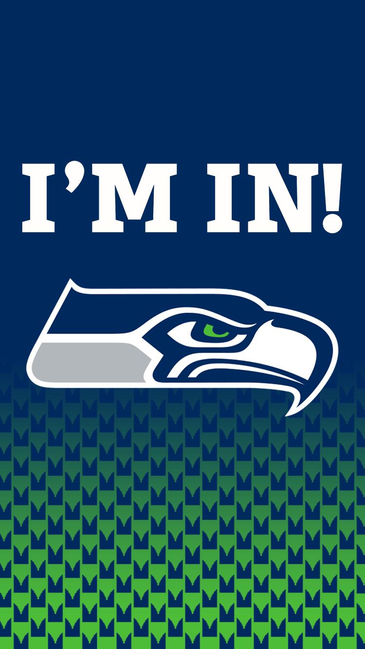 Seattle Seahawks iPhone 6 Wallpaper. I'm In!