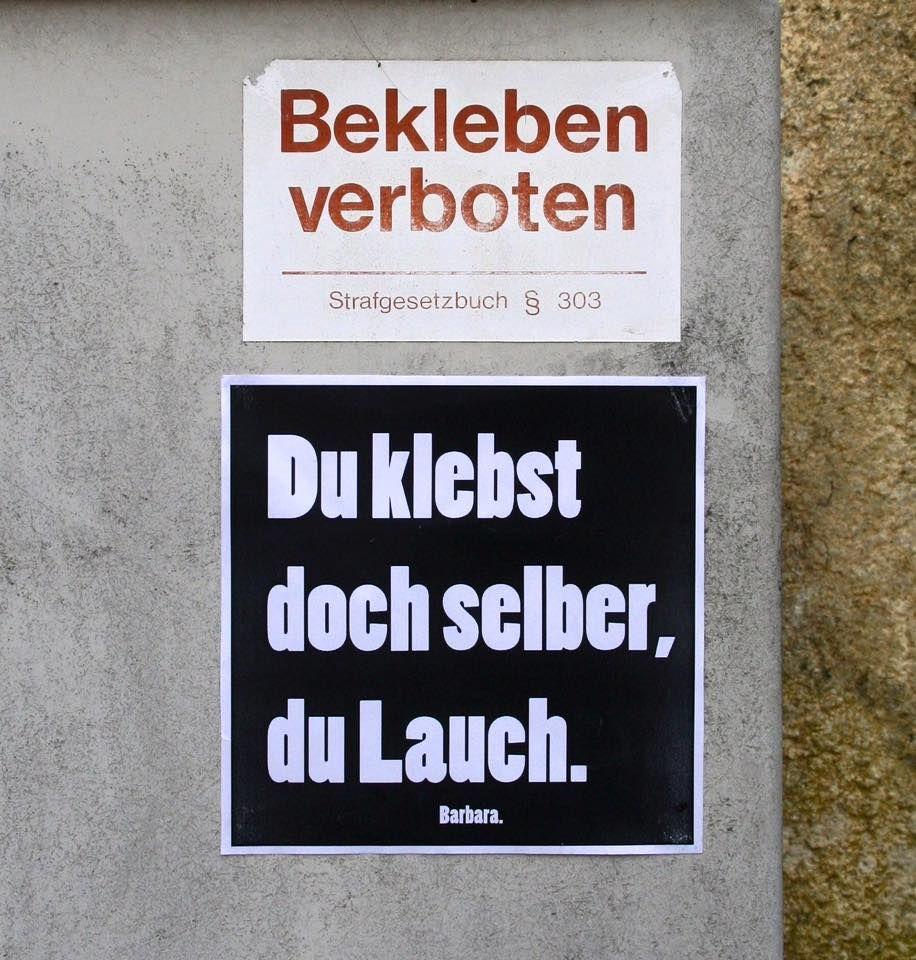 Barbara und Der Lauch.