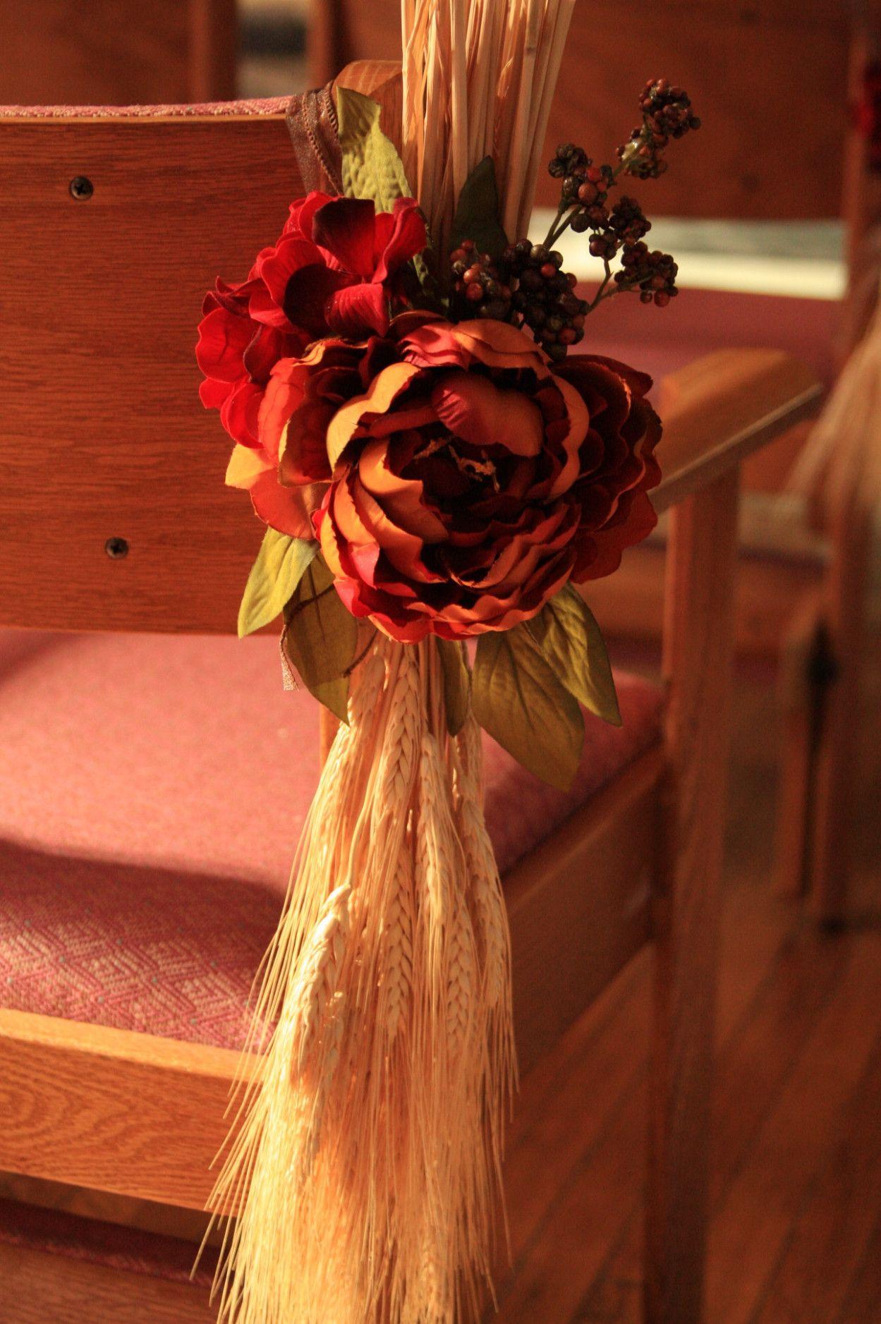 Wedding decorations near me october 2018 Fall Church Wedding Ideas in   Wedding  Pinterest  Fall