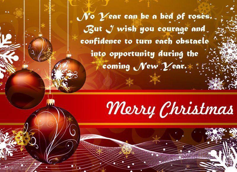 Merry Christmas And Happy New Year Cool Messages - Merry Christmas ...