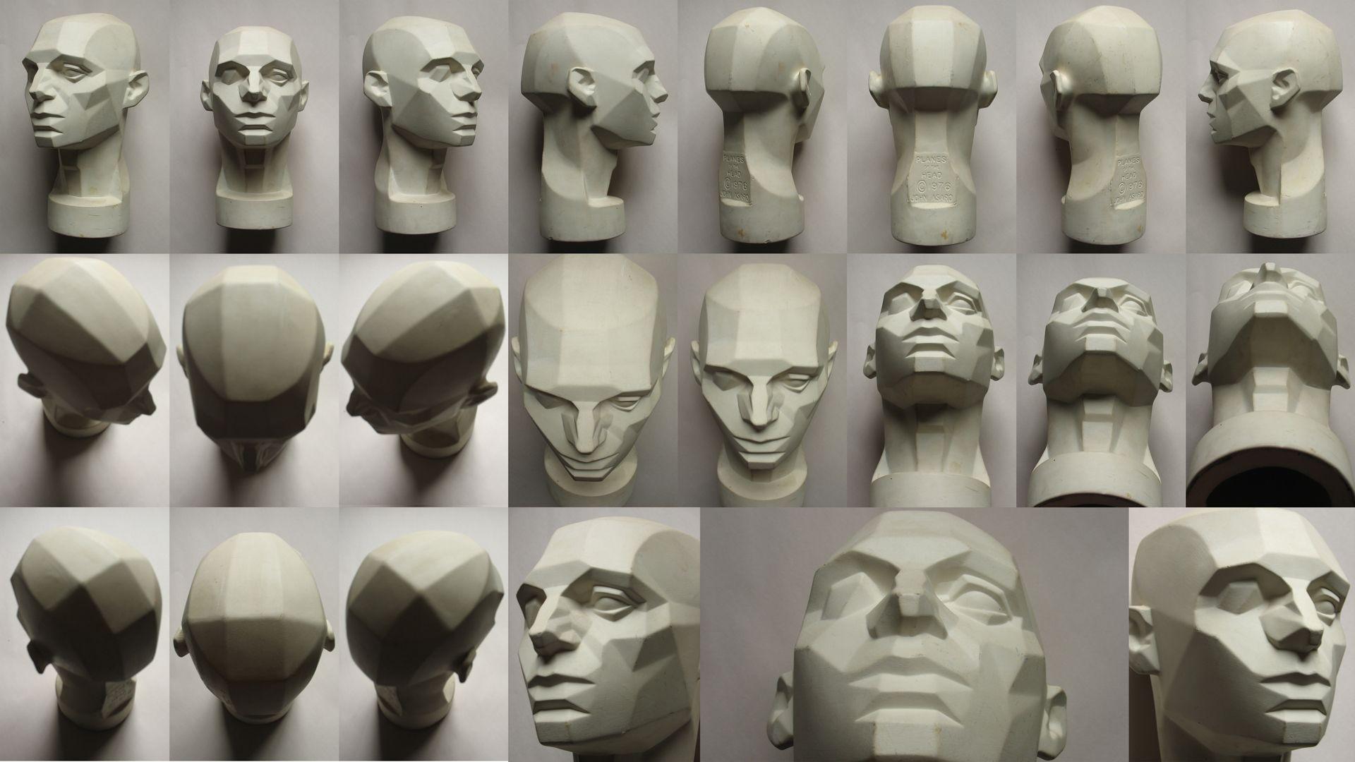 female face critique please polycount forum anatomy ref