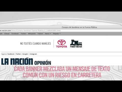 Para concientizar a los conductores sobre los peligros de textear y manejar.  Cliente: Purdy Motor. Versión: Textear y manejar.