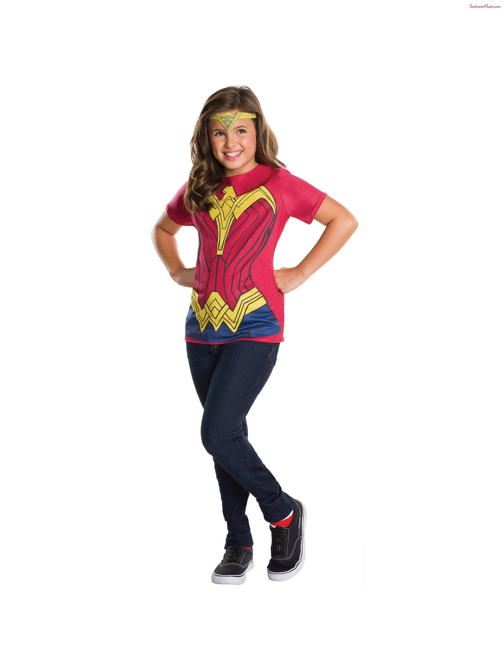 Wonder Woman Kids Top Costume Ad T Shirt Costumes Kids Top