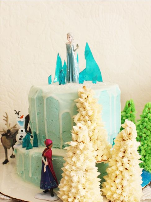 An Easy Frozen Birthday Party You Can Do at Home Cartoons Marvel