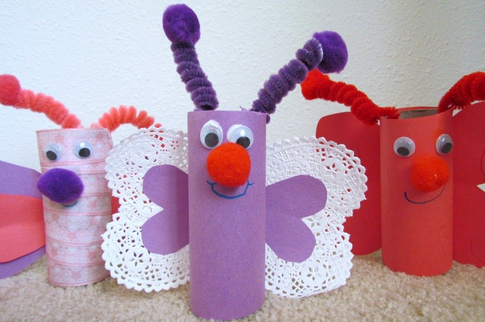 Unbelievable Surprising Craft Projects With Toilet Paper Rolls Beautiful Butterfly Recycled Ideas From Roll Bbdesignsny