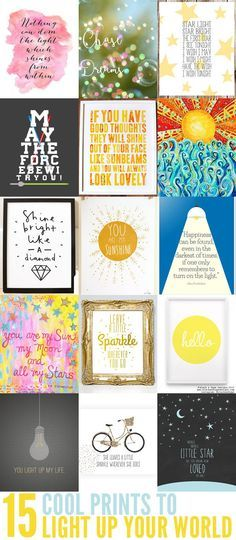 15 Cool Prints to Light Up Your Child's Room