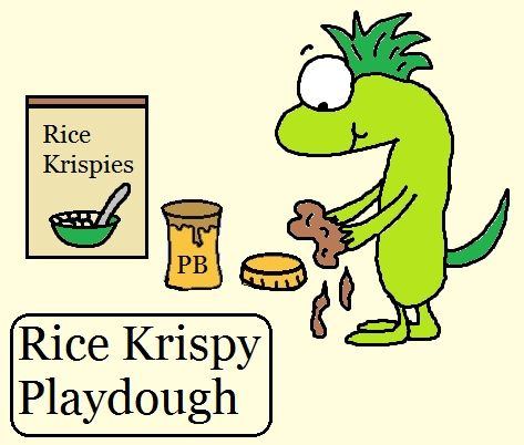 Rice Krispy Playdough, for the walls of Jericho | Joshua and the ...