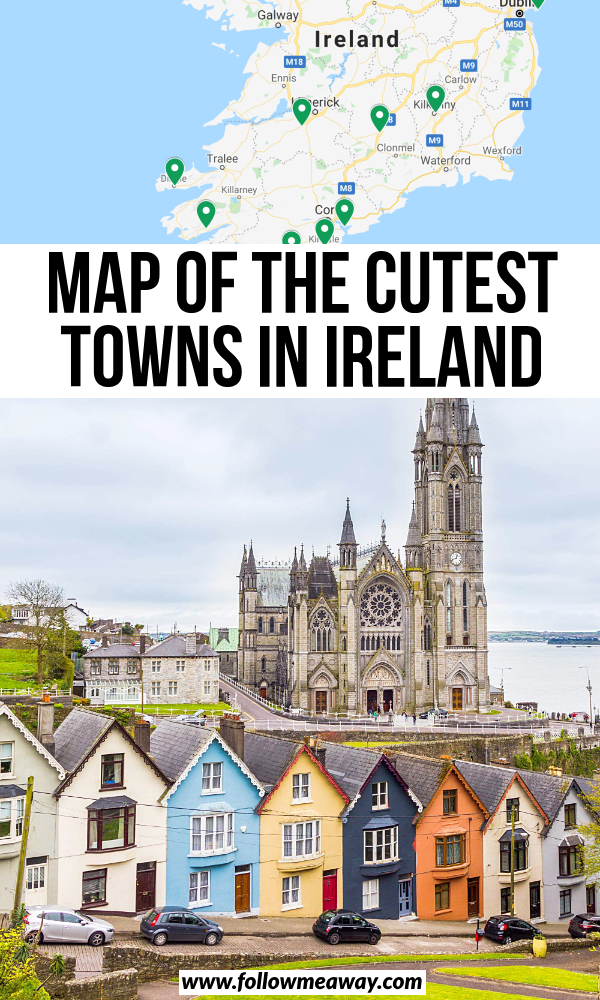 10 Prettiest Small Towns In Ireland + Map To Find Them #irelandtravel