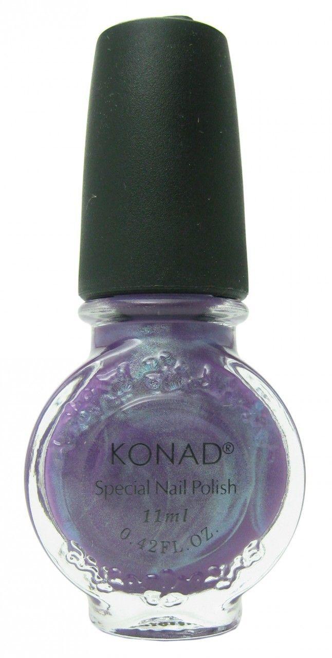 Violet Pearl (Special Polish) by Konad Nail Stamping | Nail Polish ...