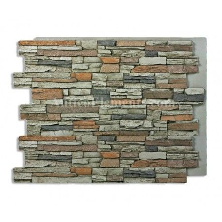 Alpi Panel Stone Wall Gray 36 X 48 With Images Faux