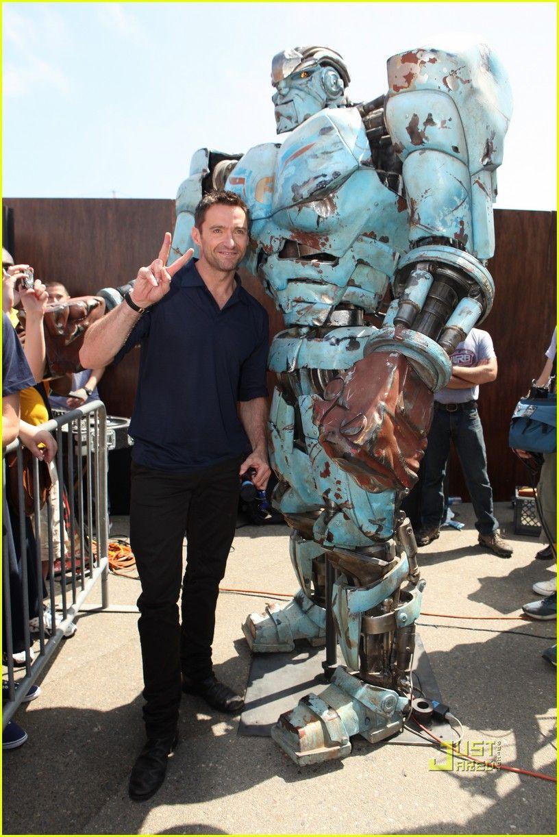 Hugh Jackman Real Steel Comic Con 10 Jpg 816 1222 Hyu Dzhekman