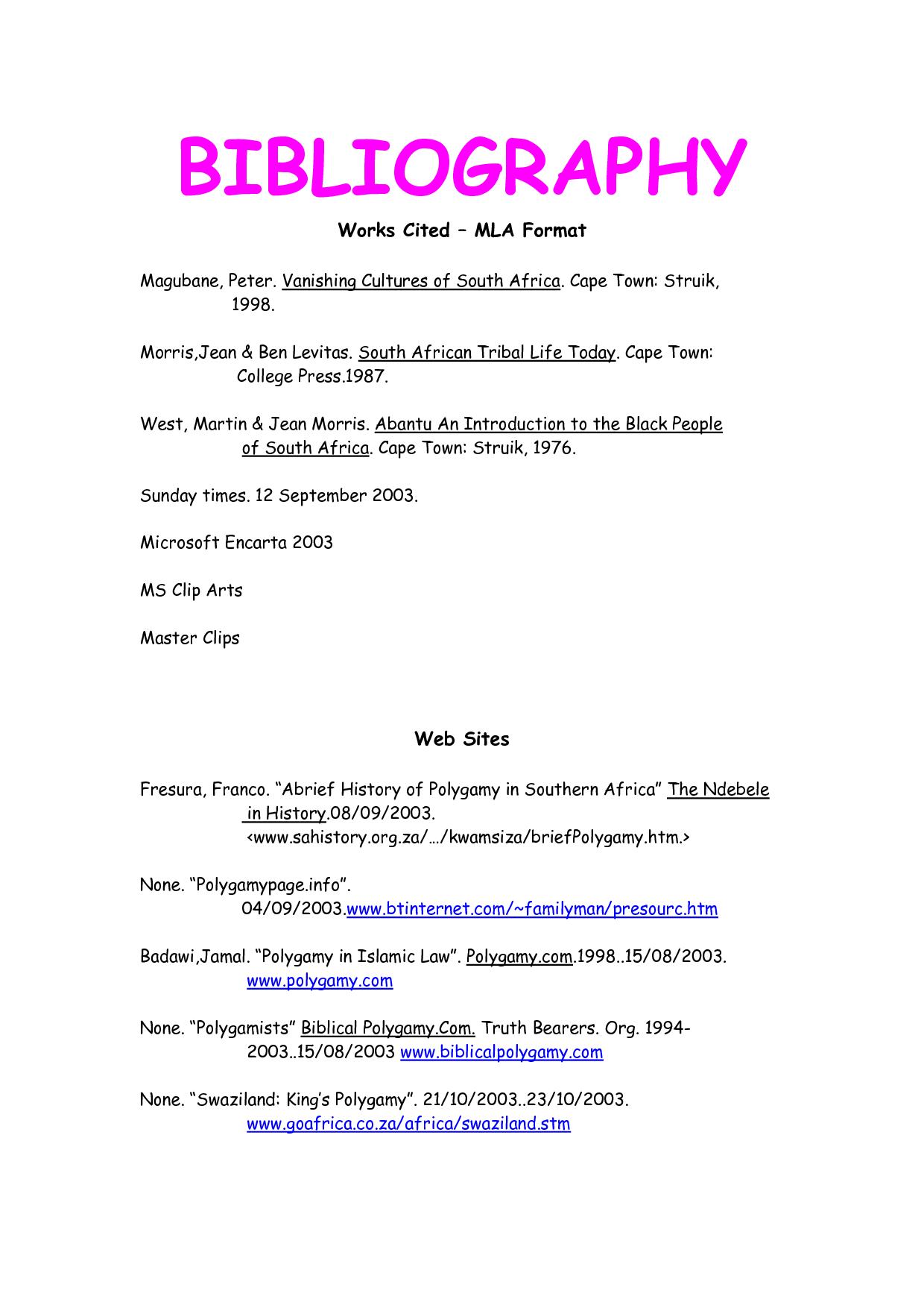 Mla Format Works Cited Template Essay Format Mla Format Mla Format Works Cited