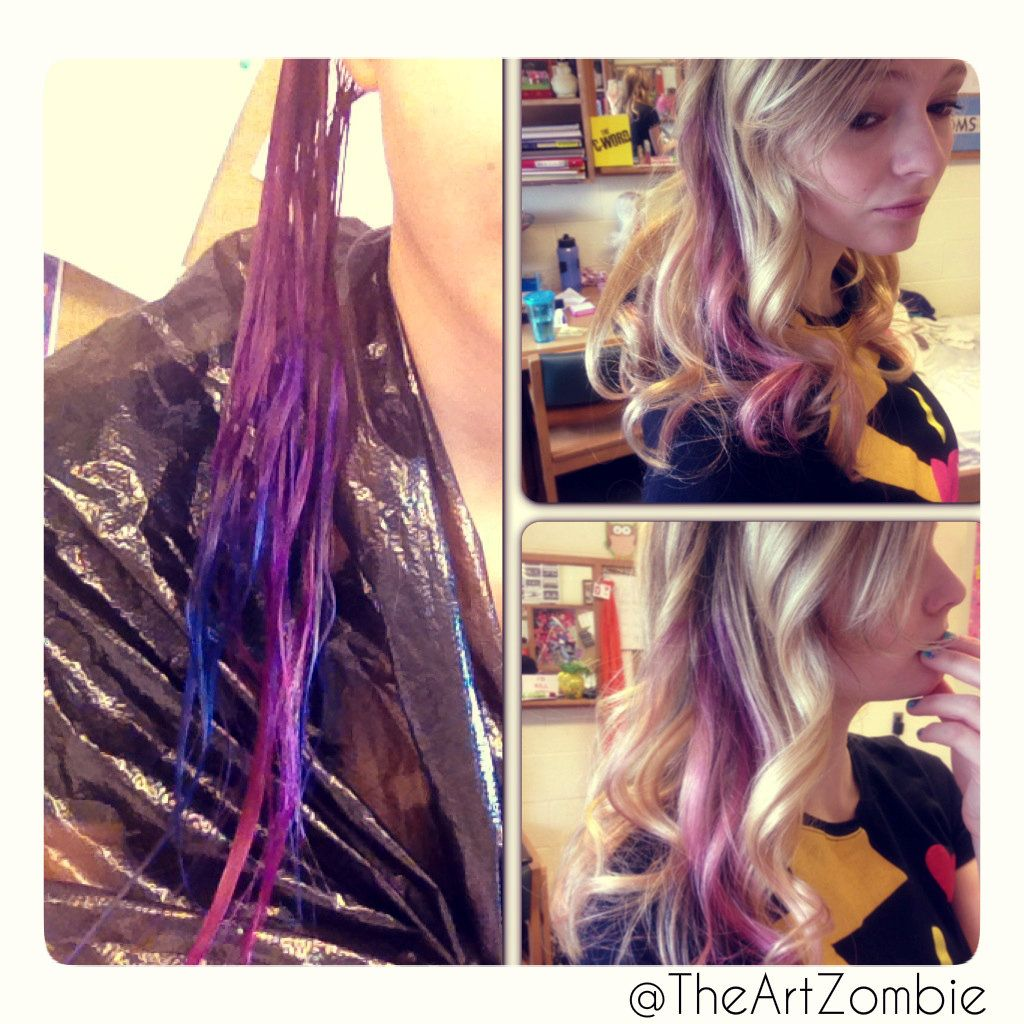 Splat Hair Color Splat Hair Color Colored Hair Tips Hair Color