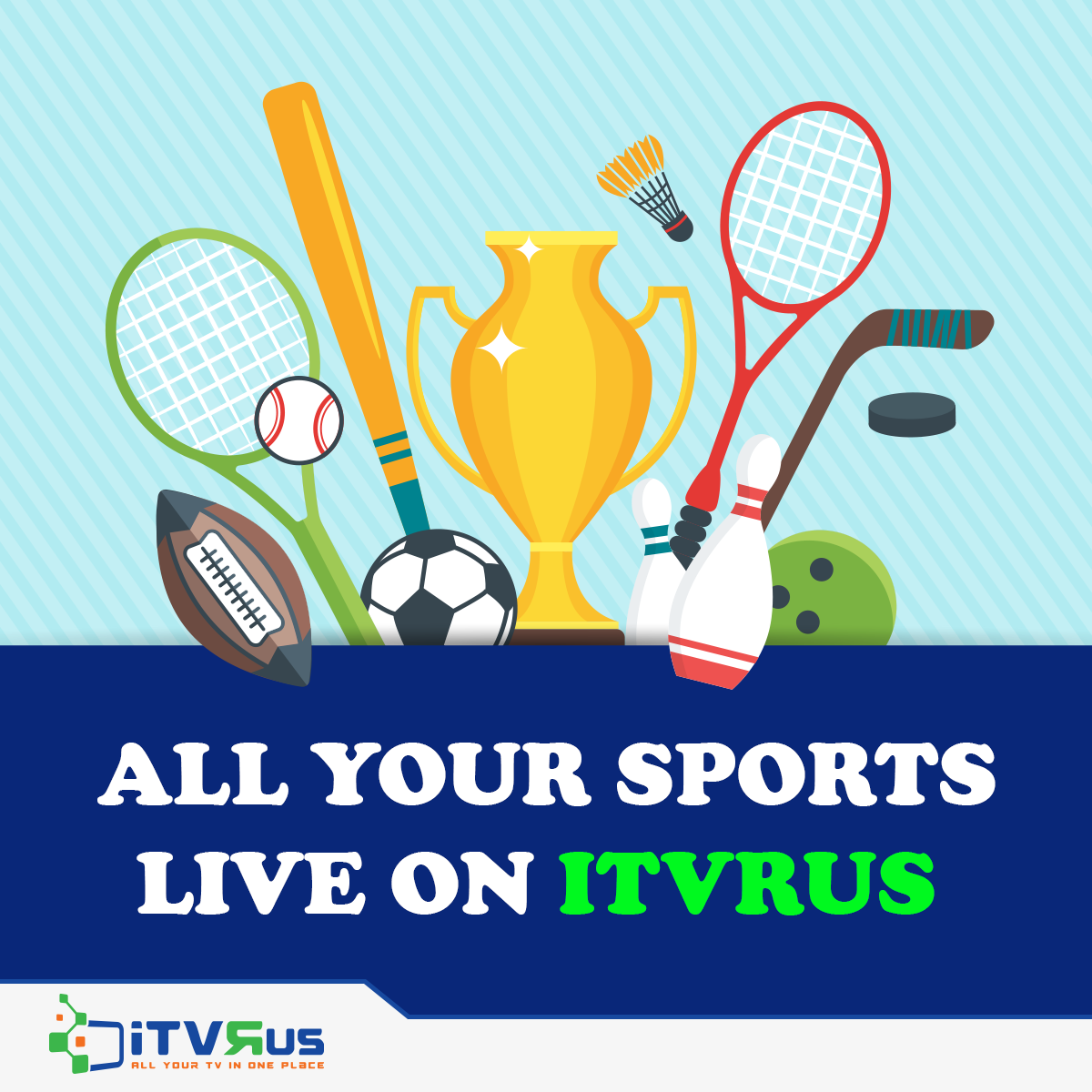 Uninterrupted sports streaming Live and recorded