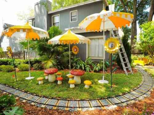 aire de jeux de jardin : idée d\'aménagement extérieur ...