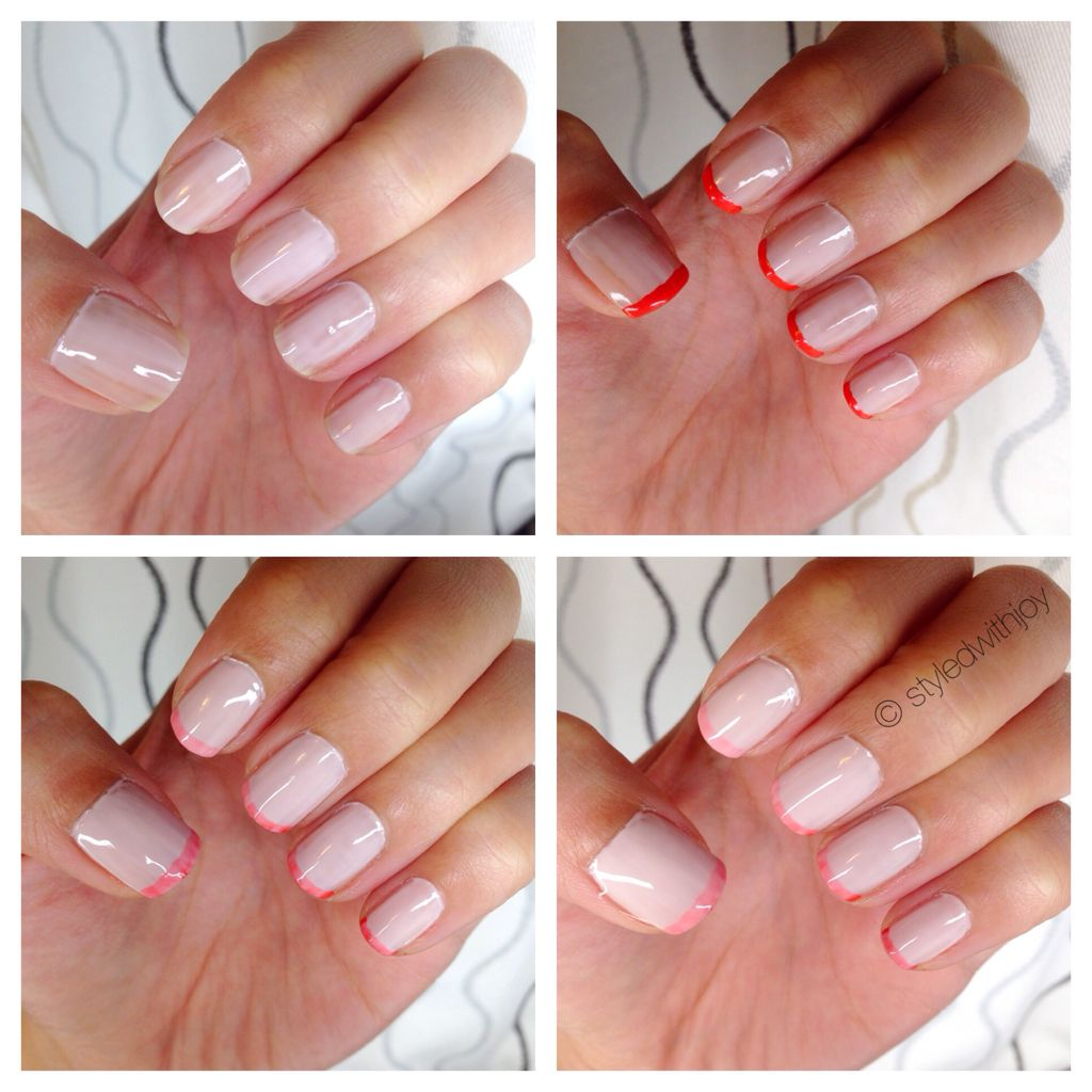 The new french manicure | Nail Art | Pinterest