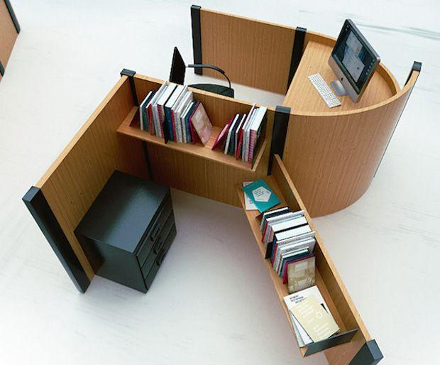Design et typographie pour des bureaux originaux et stimulants