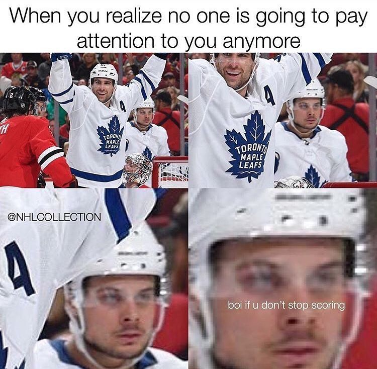 Pin By Kelly Poosh On Auston Matthews Hockey Memes Hockey Humor Hot Hockey Players