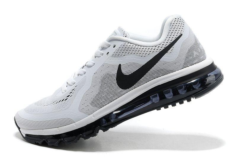acheter populaire 0a8b5 c1fc0 Cheap Mens Nike Air Max 2014 White Black UK Sale | Nike Air ...