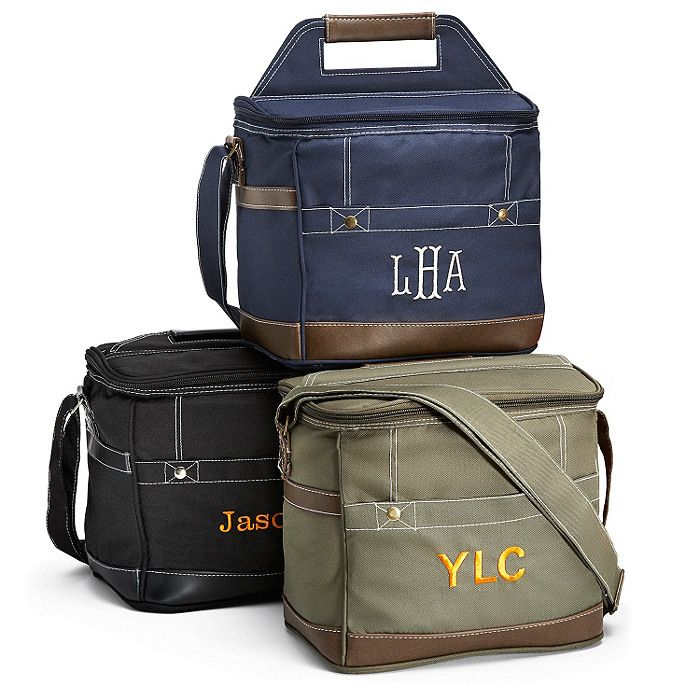 Personalized Cooler Bag Maybe For The Groomsmen With Their Favorite Drink Inside