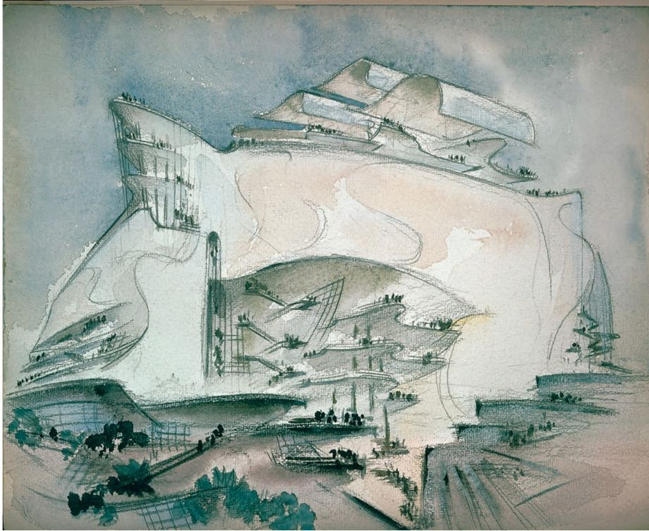 Extraordinarily Beautiful Architectural Drawings From the