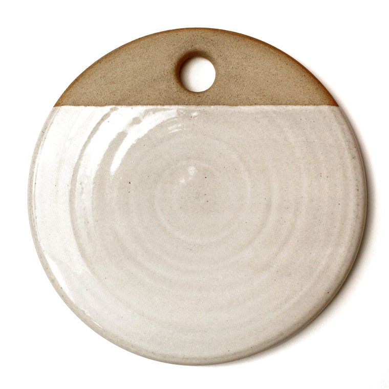 Cheese Stone - place in oven to warm a soft cheese or store in freezer to serve cool food. Also works well for small pizzas, appetizers or desserts. // farmhousepottery.com
