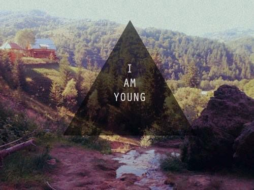 #Young, #Triangle, #Background, #Hipster