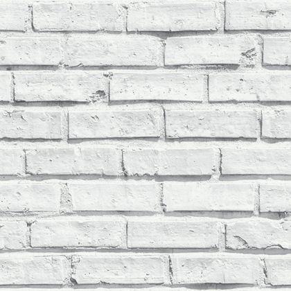 arthouse brick wallpaper white at homebase be