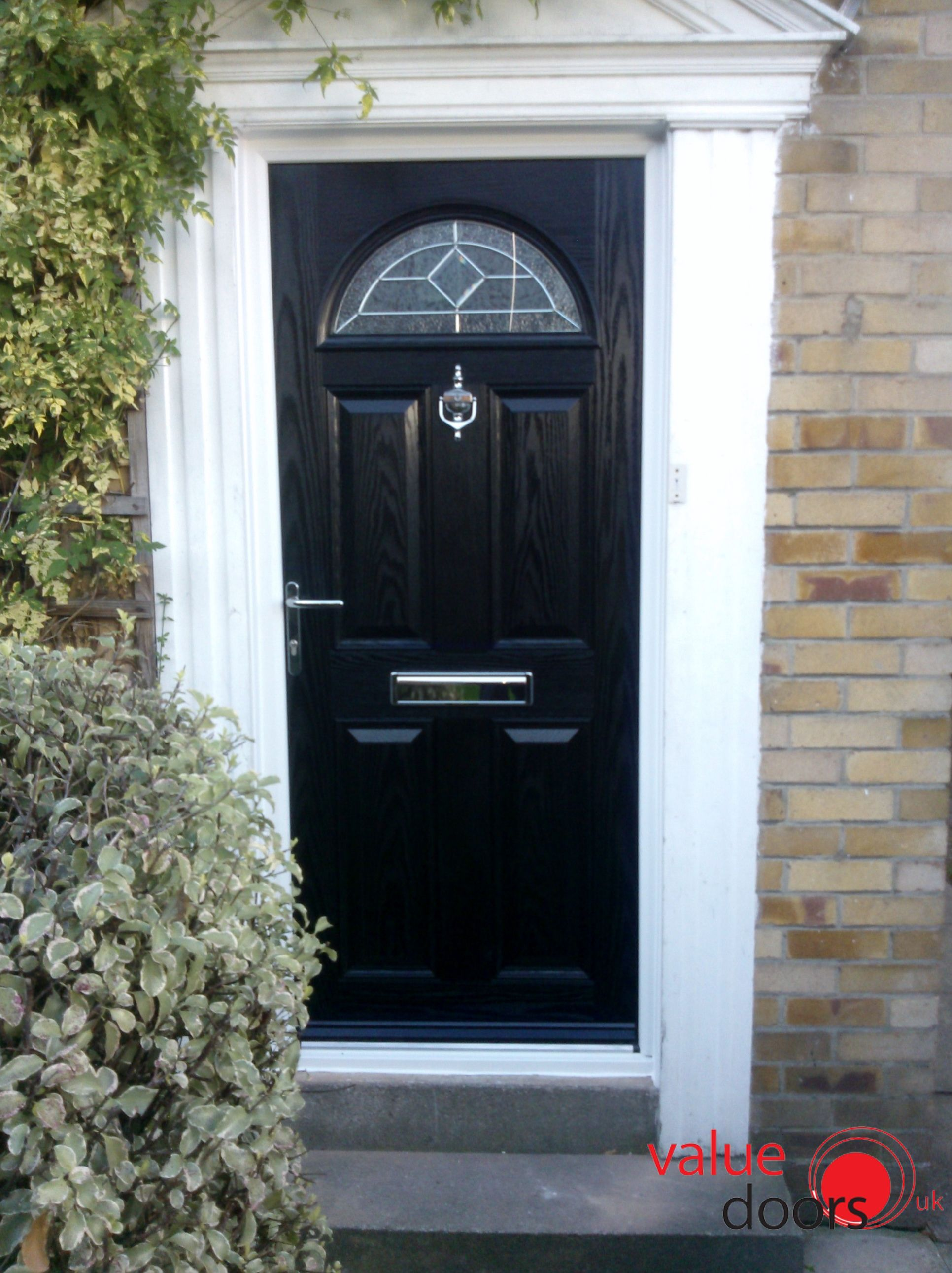 The Derby Composite Door in Black with Red Crystal Harmony! & The Derby Composite Door in Black with Red Crystal Harmony! | Black ...