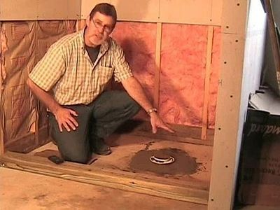 How To Build A Mud Set Shower Pan Thumbnail With Images