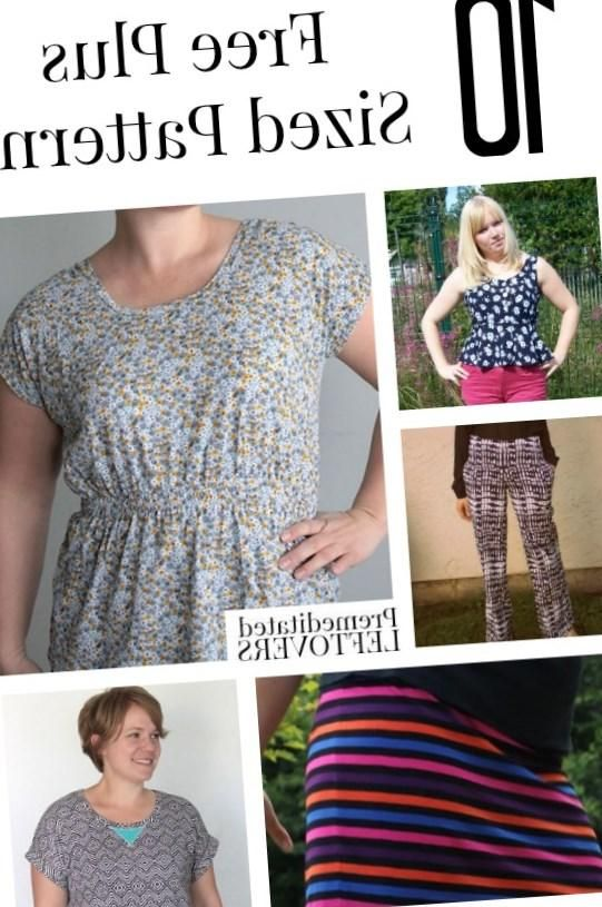 Free plus size dress sewing patterns - http://pluslook.eu/party/free ...