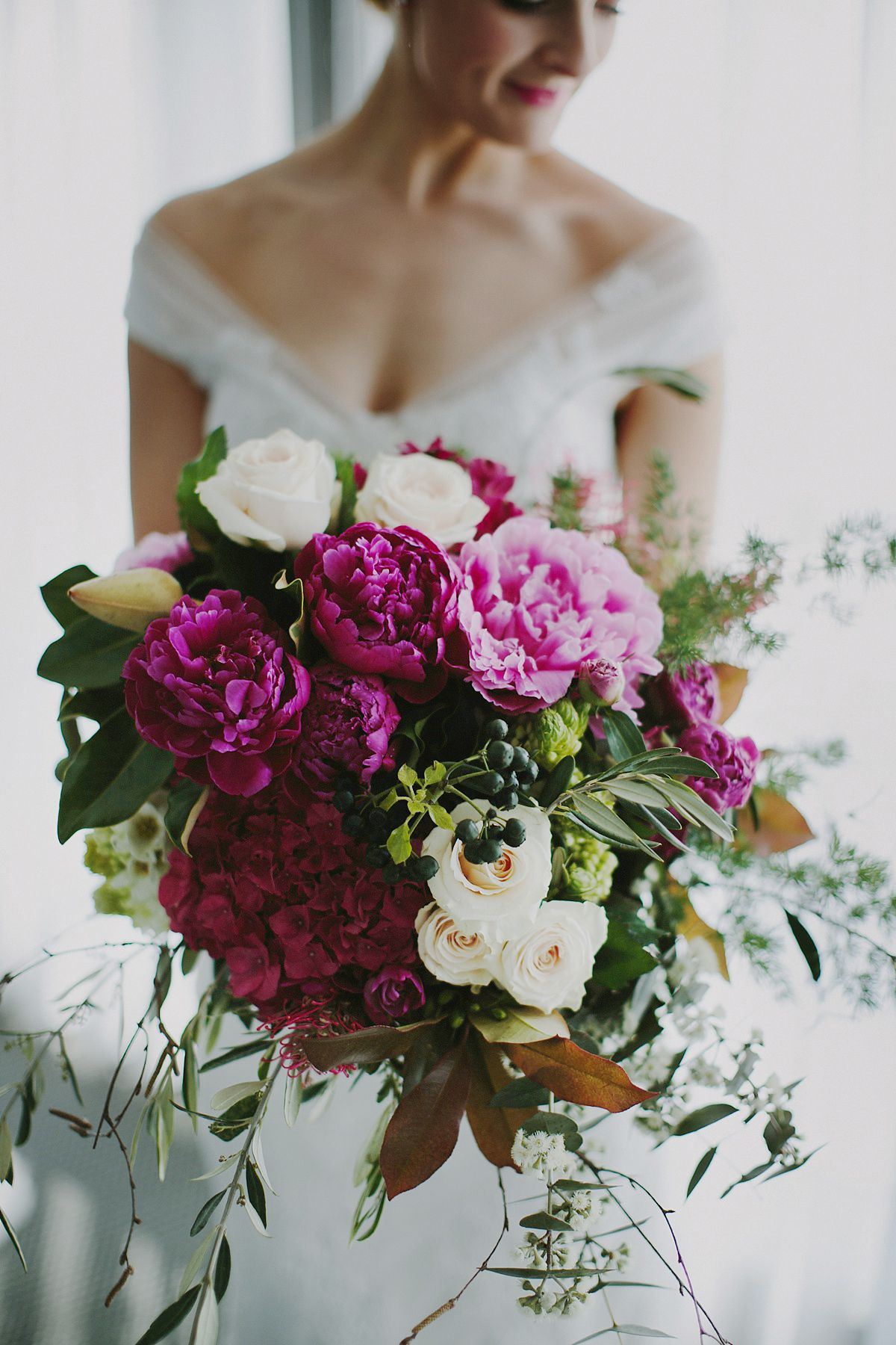 Best bouquets of 2015 / Vibrant bridal bouquet by Brisbane florist ...