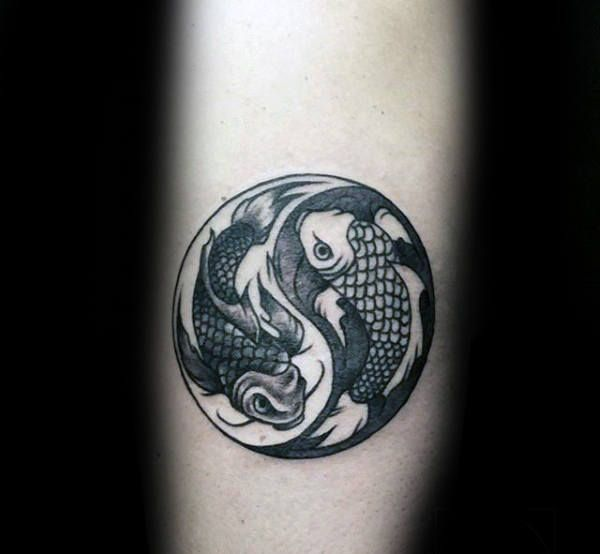 3414e26e3 60 Pisces Tattoos For Men - Astrology Ink Design Ideas | Markings ...