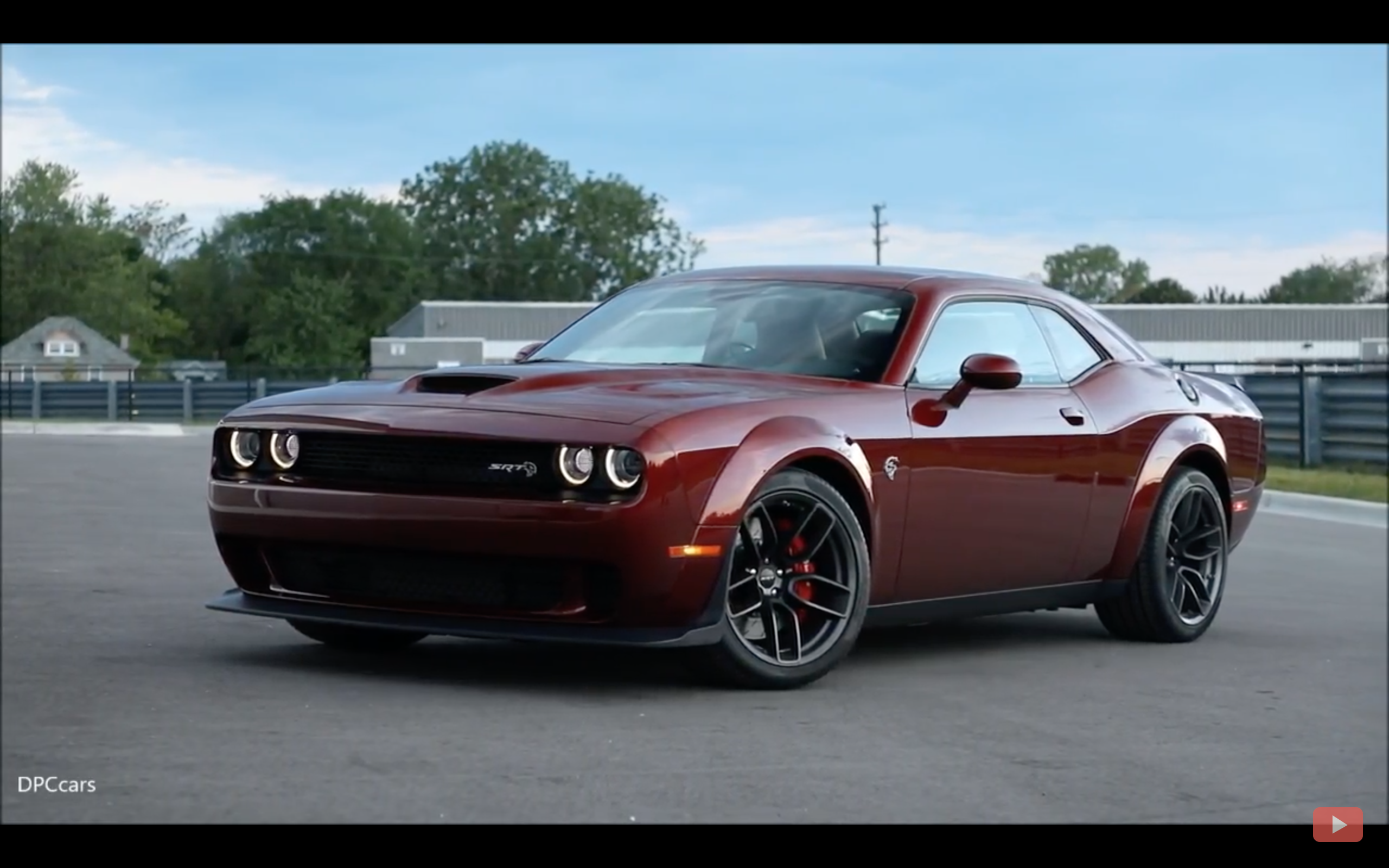 Video get a load of the 2018 challenger srt hellcat widebody http