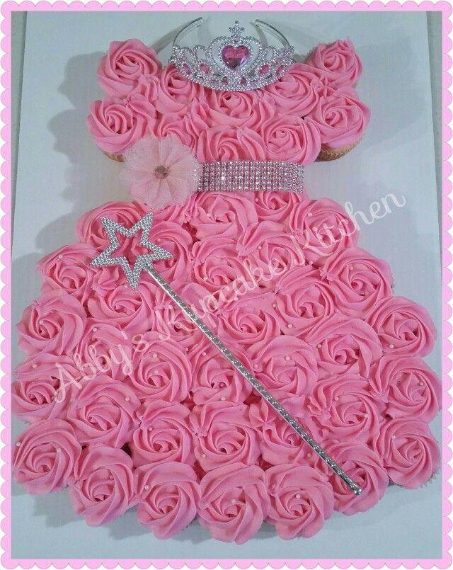 Super Princess Cupcake Cake With Images Princess Birthday Cupcakes Funny Birthday Cards Online Inifodamsfinfo