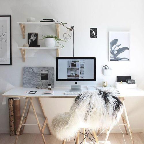 Via Thedesignchaser Luna Desk Room Home Office Design