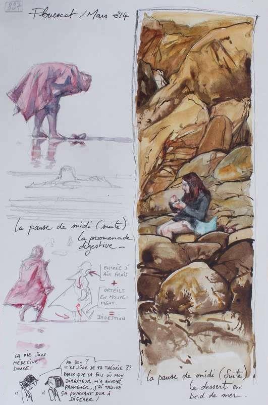 Une Bretagne par les Contours / Plouescat   20/05/2014
