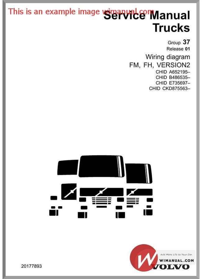 volvo trucks fm fh vers2 a 652195 wiring diagram is the perfect sol rh pinterest com Volvo NH12 Comprar Volvo NH12 in Iran