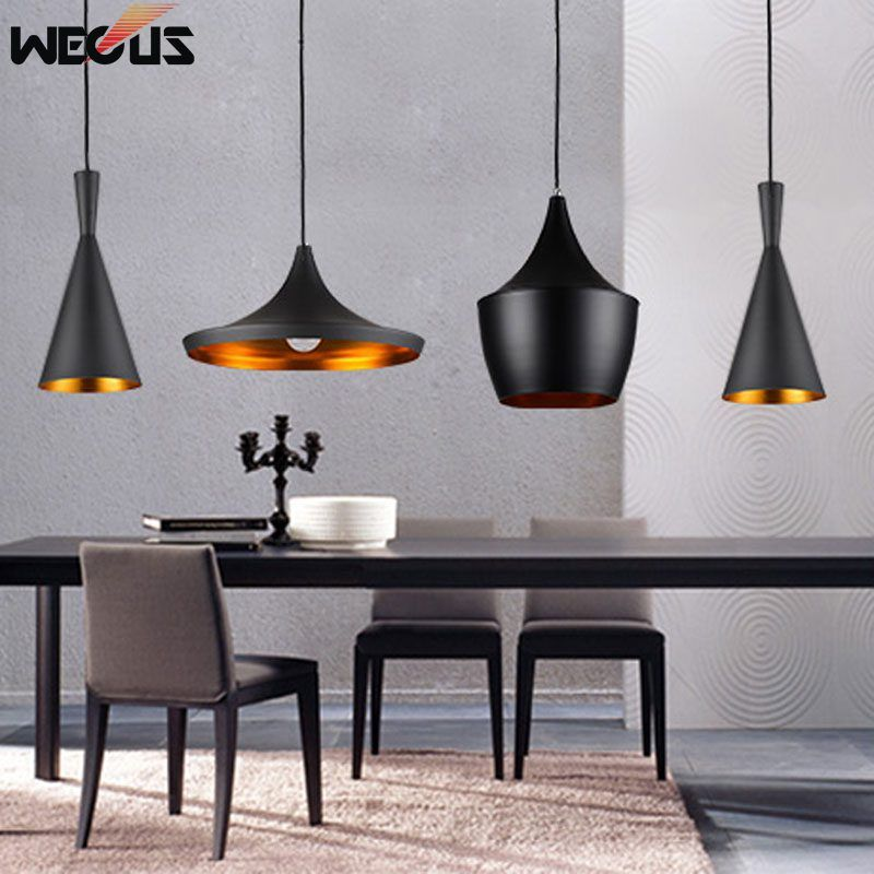 Wecus Retro Industrial Restaurant Dining Room Cafe Club Hanging Lamps Personality Art Bar Single