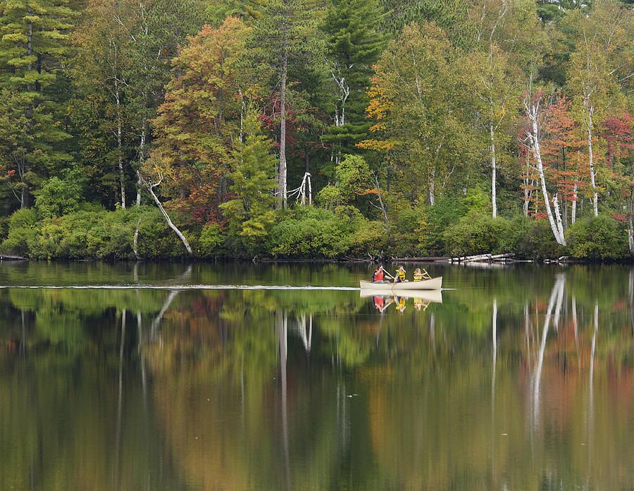 Fish Creek Pond in Adirondack Park - New York Photograph  - Fish Creek Pond in Adirondack Park - New York Fine Art Print