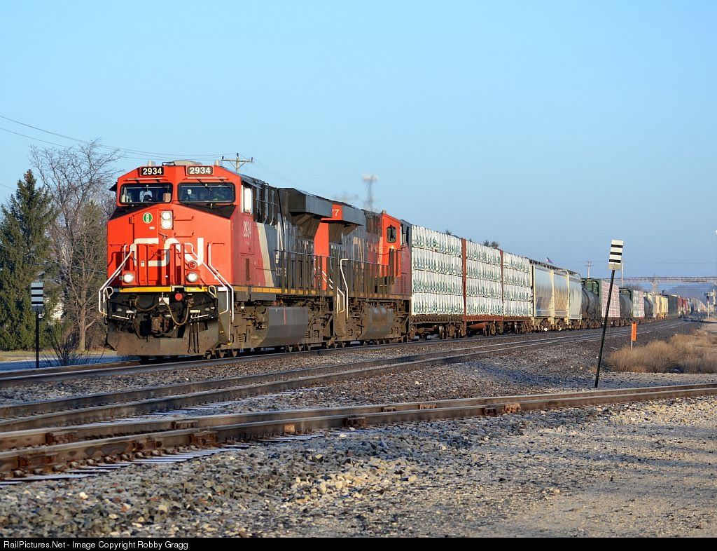 Railpicturesnet photo cn canadian national railway ge esac