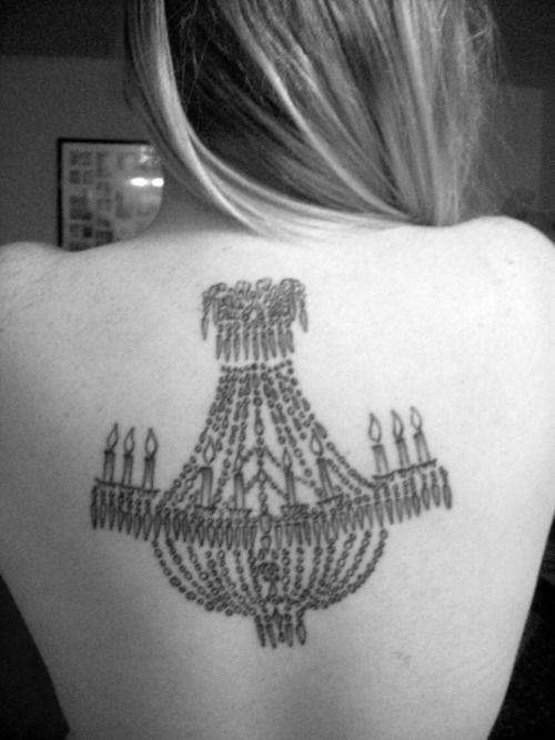 chandelier tattoo. Should I get one?? | Ink | Pinterest ...