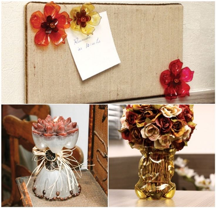 Top 10 diy crafts with plastic bottles plastic bottles for Plastic bottles decoration pieces