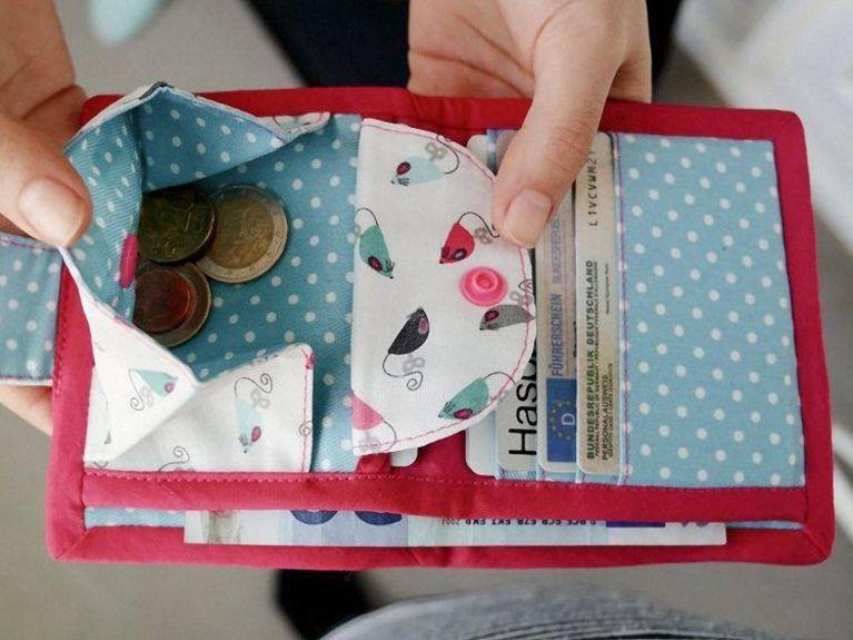 DIY-Anleitung: Geldbörse mit Druckknopf nähen via DaWanda.com ...