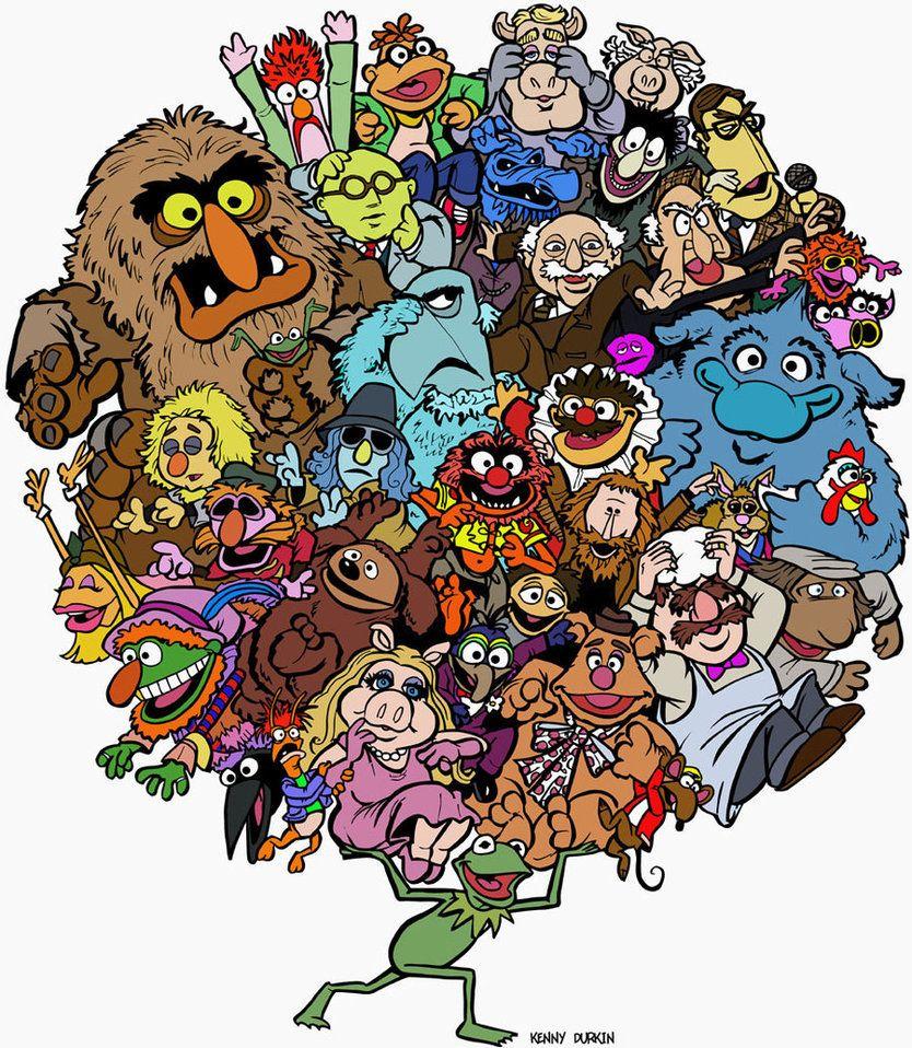 Muppet Christmas Meme: Muppets World Of Friendship By ~Durkinworks On DeviantART